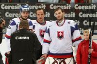Traja najlepší hráči Slovenska na šampionáte - Budaj, Sekera, Čiernik